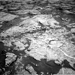 Nasa's Mars rover Curiosity acquired this image using its Left Navigation Camera on Sol 3154, at drive 526, site number 89