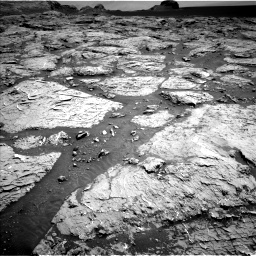 Nasa's Mars rover Curiosity acquired this image using its Left Navigation Camera on Sol 3154, at drive 538, site number 89