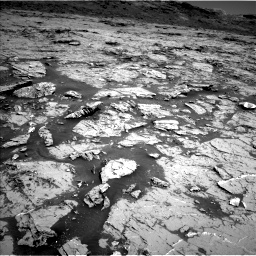 Nasa's Mars rover Curiosity acquired this image using its Left Navigation Camera on Sol 3154, at drive 568, site number 89
