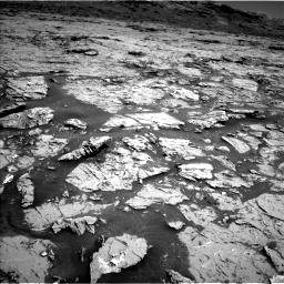 Nasa's Mars rover Curiosity acquired this image using its Left Navigation Camera on Sol 3154, at drive 580, site number 89