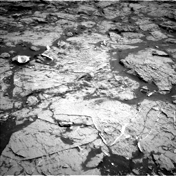 Nasa's Mars rover Curiosity acquired this image using its Left Navigation Camera on Sol 3154, at drive 598, site number 89