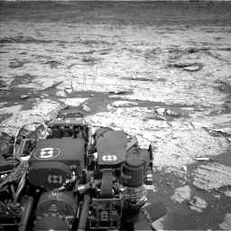 Nasa's Mars rover Curiosity acquired this image using its Left Navigation Camera on Sol 3154, at drive 628, site number 89