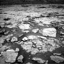 Nasa's Mars rover Curiosity acquired this image using its Left Navigation Camera on Sol 3154, at drive 640, site number 89