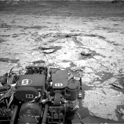 Nasa's Mars rover Curiosity acquired this image using its Left Navigation Camera on Sol 3154, at drive 670, site number 89