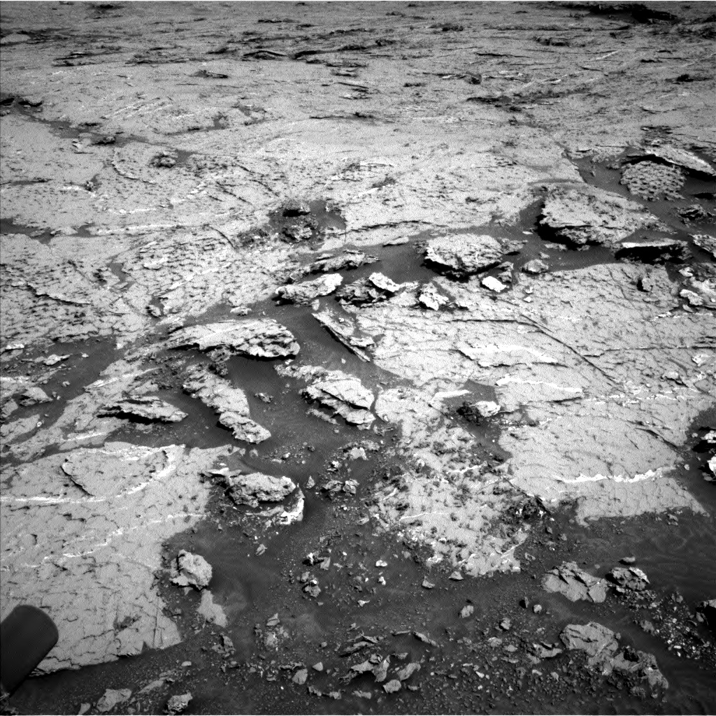 Nasa's Mars rover Curiosity acquired this image using its Left Navigation Camera on Sol 3154, at drive 676, site number 89