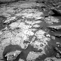 Nasa's Mars rover Curiosity acquired this image using its Left Navigation Camera on Sol 3154, at drive 682, site number 89