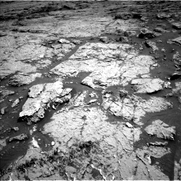 Nasa's Mars rover Curiosity acquired this image using its Left Navigation Camera on Sol 3154, at drive 700, site number 89