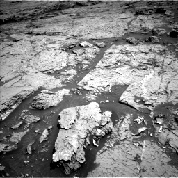 Nasa's Mars rover Curiosity acquired this image using its Left Navigation Camera on Sol 3154, at drive 706, site number 89