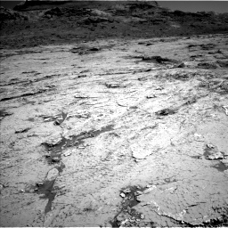 Nasa's Mars rover Curiosity acquired this image using its Left Navigation Camera on Sol 3154, at drive 712, site number 89