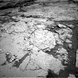 Nasa's Mars rover Curiosity acquired this image using its Left Navigation Camera on Sol 3154, at drive 718, site number 89
