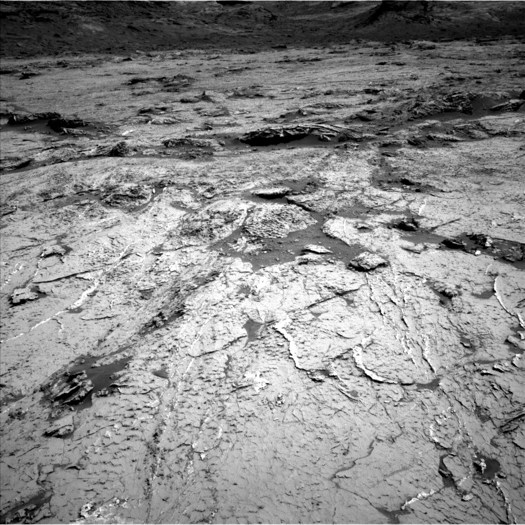 Nasa's Mars rover Curiosity acquired this image using its Left Navigation Camera on Sol 3154, at drive 724, site number 89