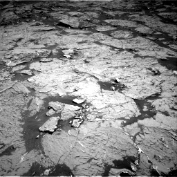 Nasa's Mars rover Curiosity acquired this image using its Right Navigation Camera on Sol 3154, at drive 294, site number 89