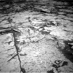 Nasa's Mars rover Curiosity acquired this image using its Right Navigation Camera on Sol 3154, at drive 306, site number 89