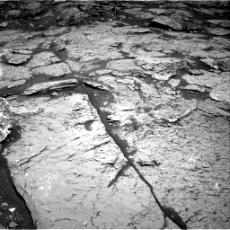 Nasa's Mars rover Curiosity acquired this image using its Right Navigation Camera on Sol 3154, at drive 312, site number 89