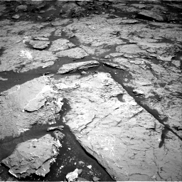 Nasa's Mars rover Curiosity acquired this image using its Right Navigation Camera on Sol 3154, at drive 318, site number 89