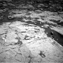 Nasa's Mars rover Curiosity acquired this image using its Right Navigation Camera on Sol 3154, at drive 348, site number 89