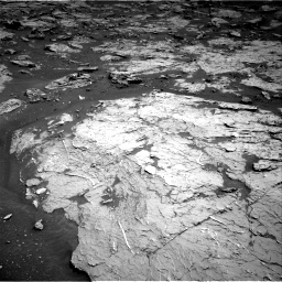 Nasa's Mars rover Curiosity acquired this image using its Right Navigation Camera on Sol 3154, at drive 364, site number 89