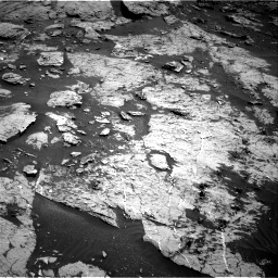 Nasa's Mars rover Curiosity acquired this image using its Right Navigation Camera on Sol 3154, at drive 400, site number 89