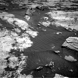 Nasa's Mars rover Curiosity acquired this image using its Right Navigation Camera on Sol 3154, at drive 418, site number 89