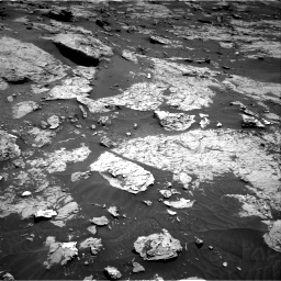 Nasa's Mars rover Curiosity acquired this image using its Right Navigation Camera on Sol 3154, at drive 454, site number 89