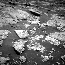 Nasa's Mars rover Curiosity acquired this image using its Right Navigation Camera on Sol 3154, at drive 460, site number 89