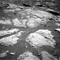Nasa's Mars rover Curiosity acquired this image using its Right Navigation Camera on Sol 3154, at drive 484, site number 89