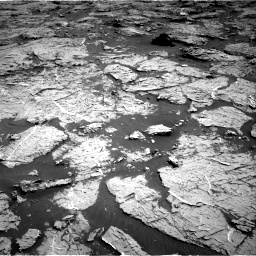 Nasa's Mars rover Curiosity acquired this image using its Right Navigation Camera on Sol 3154, at drive 502, site number 89