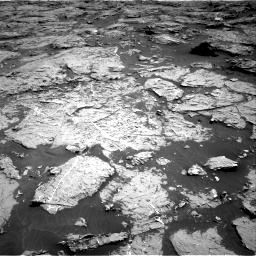 Nasa's Mars rover Curiosity acquired this image using its Right Navigation Camera on Sol 3154, at drive 508, site number 89