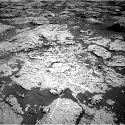 Nasa's Mars rover Curiosity acquired this image using its Right Navigation Camera on Sol 3154, at drive 514, site number 89
