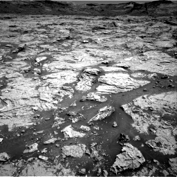 Nasa's Mars rover Curiosity acquired this image using its Right Navigation Camera on Sol 3154, at drive 520, site number 89