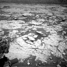 Nasa's Mars rover Curiosity acquired this image using its Right Navigation Camera on Sol 3154, at drive 532, site number 89