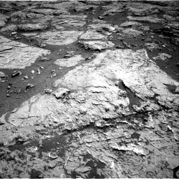 Nasa's Mars rover Curiosity acquired this image using its Right Navigation Camera on Sol 3154, at drive 538, site number 89