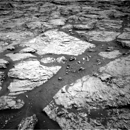 Nasa's Mars rover Curiosity acquired this image using its Right Navigation Camera on Sol 3154, at drive 544, site number 89