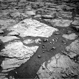 Nasa's Mars rover Curiosity acquired this image using its Right Navigation Camera on Sol 3154, at drive 550, site number 89