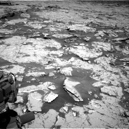 Nasa's Mars rover Curiosity acquired this image using its Right Navigation Camera on Sol 3154, at drive 556, site number 89
