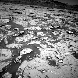 Nasa's Mars rover Curiosity acquired this image using its Right Navigation Camera on Sol 3154, at drive 568, site number 89