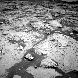 Nasa's Mars rover Curiosity acquired this image using its Right Navigation Camera on Sol 3154, at drive 574, site number 89
