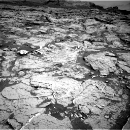 Nasa's Mars rover Curiosity acquired this image using its Right Navigation Camera on Sol 3154, at drive 586, site number 89