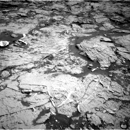 Nasa's Mars rover Curiosity acquired this image using its Right Navigation Camera on Sol 3154, at drive 598, site number 89