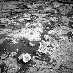 Nasa's Mars rover Curiosity acquired this image using its Right Navigation Camera on Sol 3154, at drive 622, site number 89