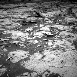 Nasa's Mars rover Curiosity acquired this image using its Right Navigation Camera on Sol 3154, at drive 640, site number 89