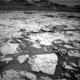 Nasa's Mars rover Curiosity acquired this image using its Right Navigation Camera on Sol 3154, at drive 652, site number 89