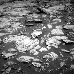 Nasa's Mars rover Curiosity acquired this image using its Right Navigation Camera on Sol 3154, at drive 658, site number 89