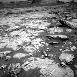 Nasa's Mars rover Curiosity acquired this image using its Right Navigation Camera on Sol 3154, at drive 670, site number 89