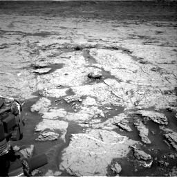 Nasa's Mars rover Curiosity acquired this image using its Right Navigation Camera on Sol 3154, at drive 676, site number 89