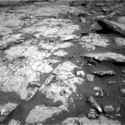 Nasa's Mars rover Curiosity acquired this image using its Right Navigation Camera on Sol 3154, at drive 682, site number 89