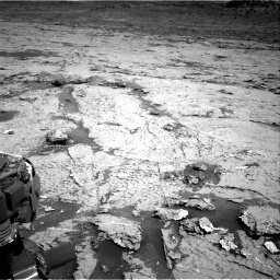 Nasa's Mars rover Curiosity acquired this image using its Right Navigation Camera on Sol 3154, at drive 688, site number 89