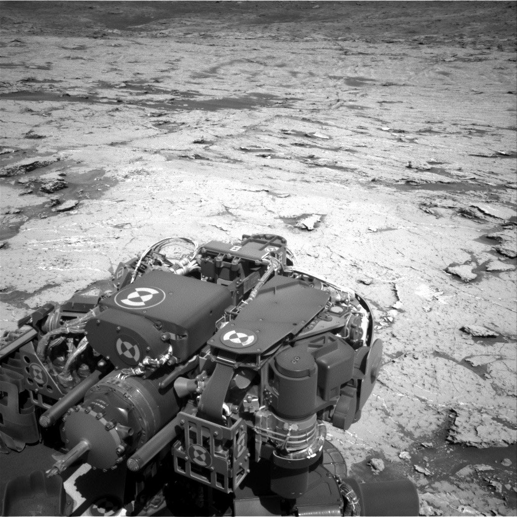 Nasa's Mars rover Curiosity acquired this image using its Right Navigation Camera on Sol 3154, at drive 724, site number 89