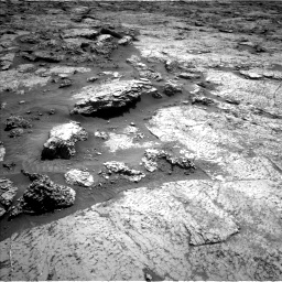 Nasa's Mars rover Curiosity acquired this image using its Left Navigation Camera on Sol 3156, at drive 790, site number 89