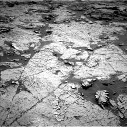 Nasa's Mars rover Curiosity acquired this image using its Left Navigation Camera on Sol 3156, at drive 820, site number 89